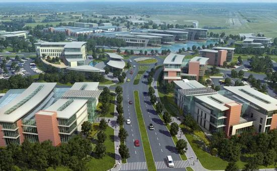 An artist's impression of MIRA Technology Park - image courtesy of MIRA