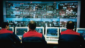 Industrial Control Systems are vulnerable to cyber attacks. Image courtesy of Wikipedia - Steag