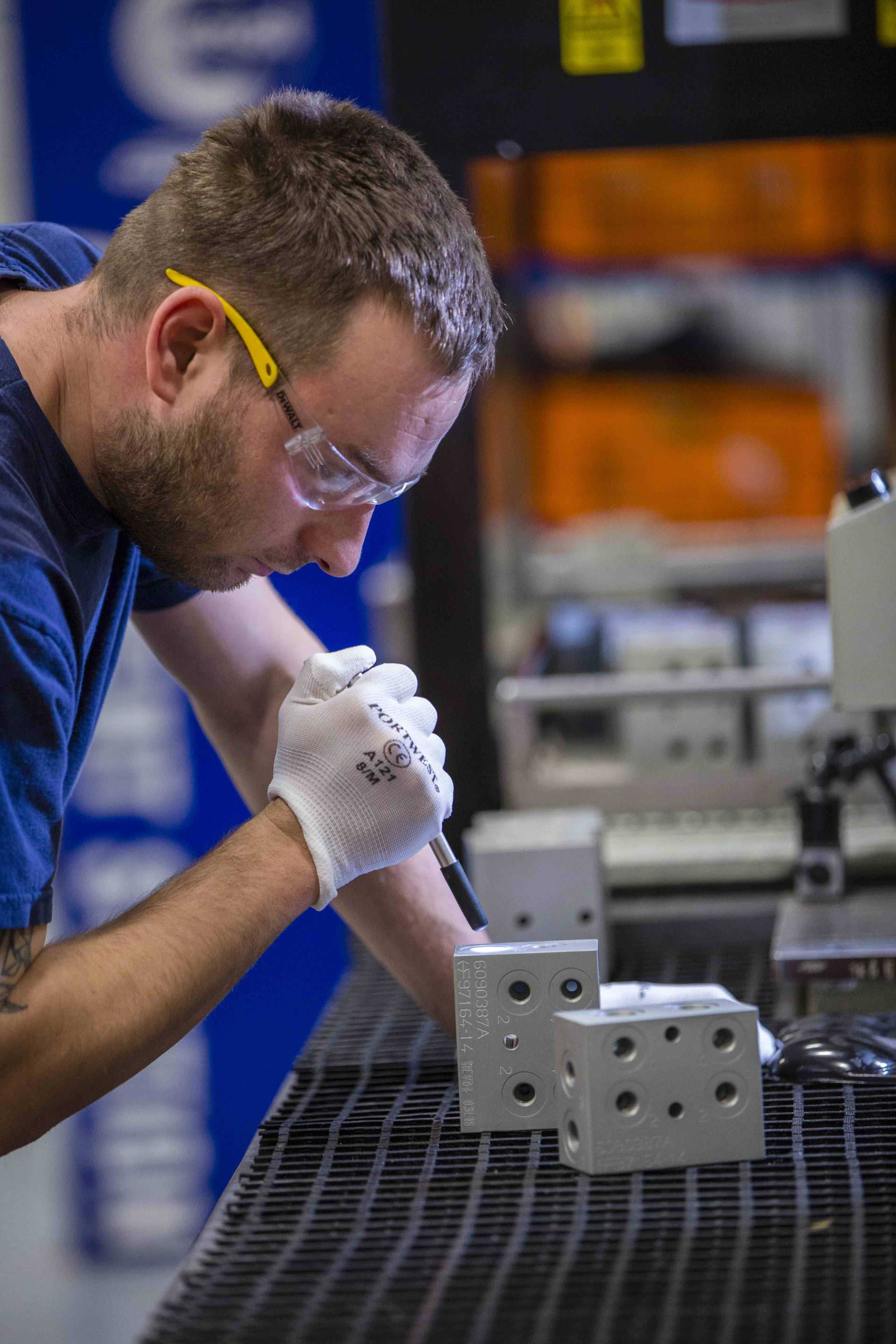 Export - The company plans to retain a new night shift introduced earlier this year to meet customer demand, and is currently recruiting across all of its shifts - image courtesy of HydraForce.