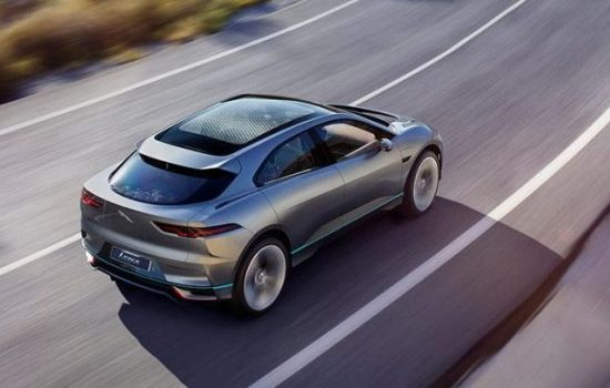 Jaguar intends to release many new electric vehicles, include the new I-PACE (pictured). Image courteys of Jaguar Land Rover.