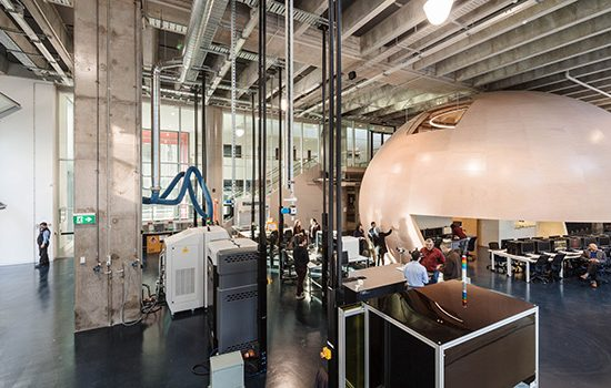 Swinburne's Factory of the Future has received additional funding. Image courtesy of Swinburne University.