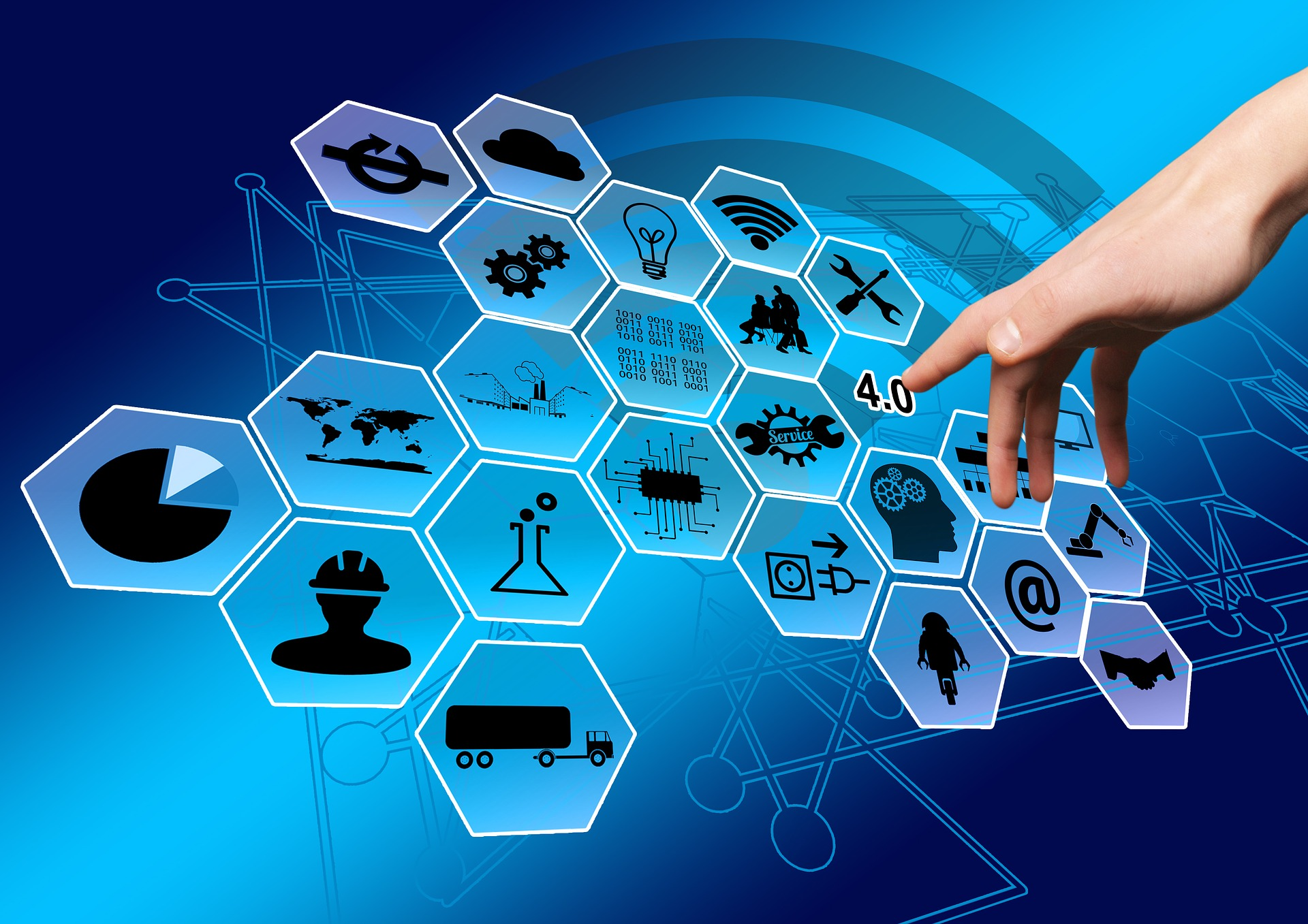 Nearly 30% of businesses worldwide have at least limited IoT deployments, by Strategy Analytics' count - image courtesy of Pixabay