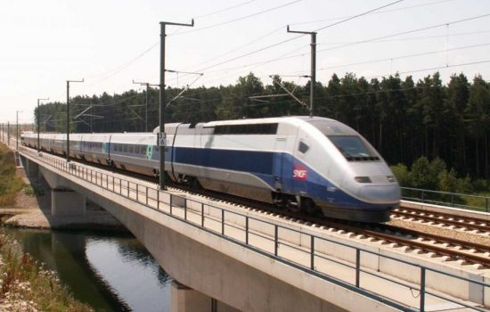 The new joint venture will include France's high speed TGV trains. Image courtesy of Wikipedia