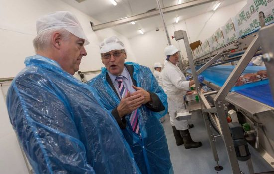 The state-of the art factory is 3,670 sq metres and includes some of the latest food production technology - image courtesy of Burger Manufacturing Company