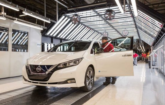 The 150 million milestone has been reached as Nissan prepares to launch the new Nissan LEAF in Europe - image courtesy of Nissan