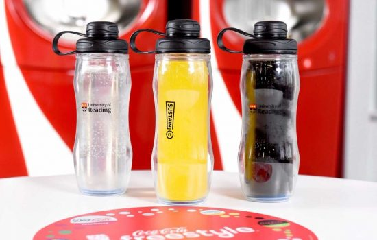 The programme combines a new generation of smart Coca-Cola fountain dispensers –known as Coca-Cola Freestyle machines with refillable containers. - image courtesy of Coca-Cola
