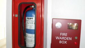 Robust fire safety measures are a must for manufacturers. Image courtesy of Wikipedia