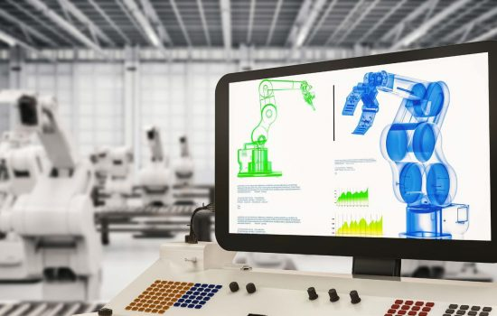 Made Smarter Productivity Digitalisation Technology Industry 4 4IR Digital - Stock Image