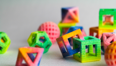 3D printing is now making inroads into the food industry - image courtesy of CSM.