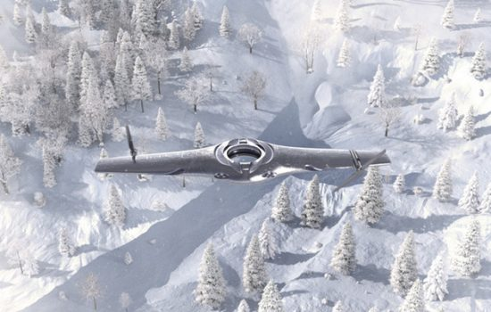 Within the next few decades, armed forces could be using unmanned aerial vehicles (UAVs) with adaptable aircraft technologies - image courtesy of BAE