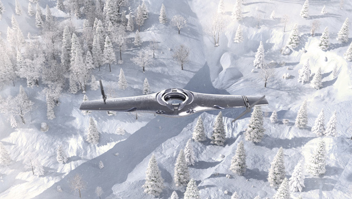 Within the next few decades, armed forces could be using unmanned aircraft vehicles (UAVs) with adaptable aircraft technologies - image courtesy of BAE