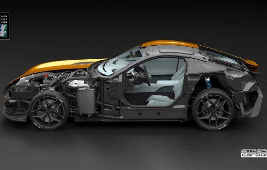 TVR chooses Gordon Murray Design's iStream® carbon manufacturing system - image courtesy of Gordon Murray Design