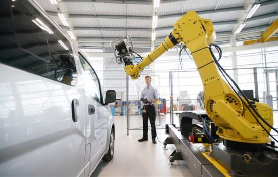 The Connected Factory provides an environment for manufacturers to explore the impact of Industry 4.0 in relation to key manufacturing functions - image courtesy of the AMRC.