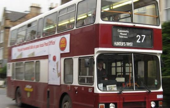 The route carries 1.8-million passengers a year between the Clermiston and Easter Road, right through the main city centre - image courses of Lothian