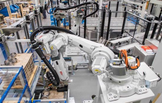The new production unit is the first of its type to be put into operations and is part of a programme of fully automated technologies - image courtesy of SKE