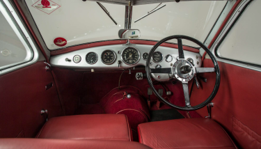 Aston Martin Atom Interior - image courtesy of Bonhams