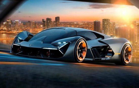 Lamborghini announced the body of the Lamborghini Terzo Millennio, made from exotic carbon nanotubes, would store and release energy - image courtesy of Lamborghini