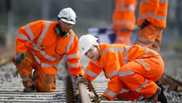 The programme aims to upgrade the existing track and infrastructure on the route from London to Corby - image courtesy of Carillion