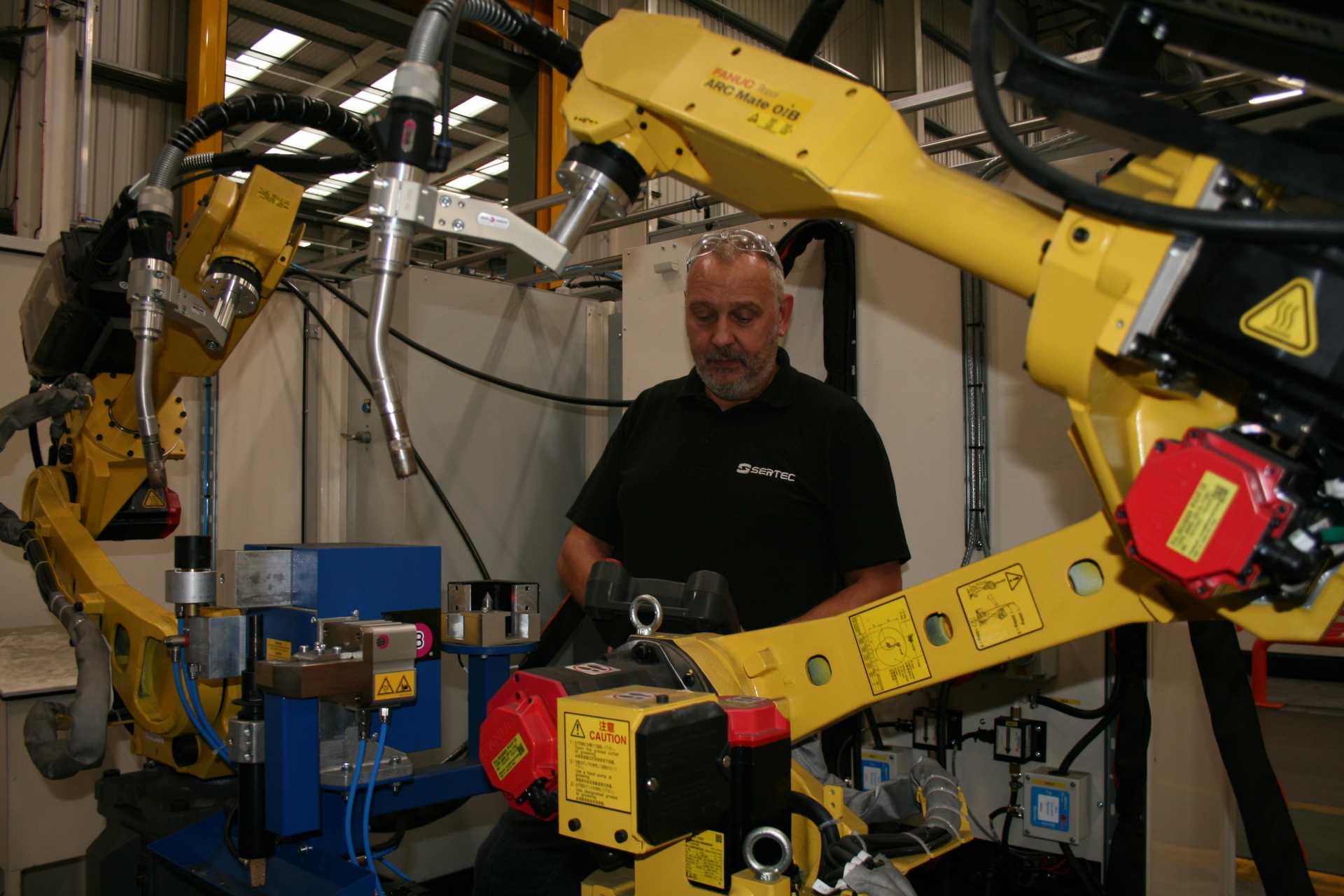 Car Supplier Invests In New 500 000 Robot Welding Cell