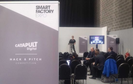 The Hack and Pitch competition was help during the 2017 Smart Factory Expo. Image courtesy of The Manufacturer
