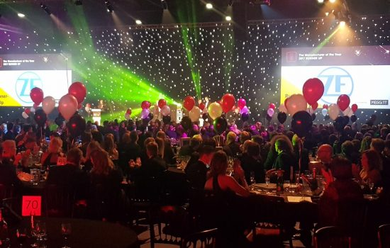 The Manufacturer MX Awards 2017 Gala Dinner and Ceremony - image courtesy of The Manufacturer.