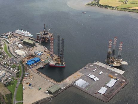 A new dynamic Scottish energy ports directory aimed at the energy industry has been launched - image courtesy of Scottish Enterprise