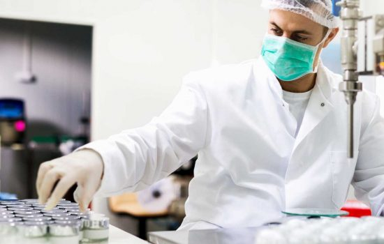 Pharmaceutical Healthcare Medical Research Innovation Lab Science - Stock Image