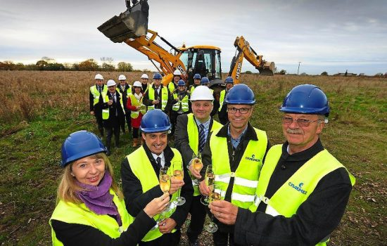 Wheelie bins maker Creamer is building a new automated factory on Hortonwood West to add to its existing Hortonwood site nearby.