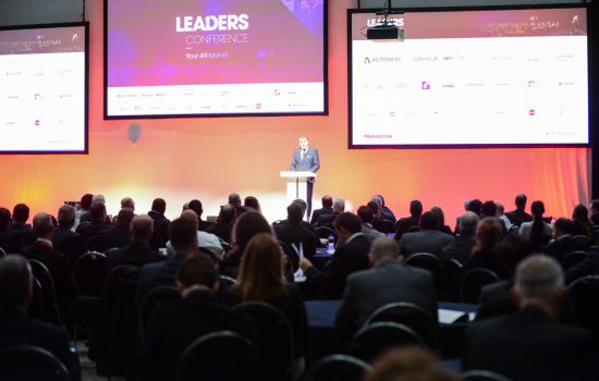 Metro Mayor Steve Rotheram welcomed delegates to Liverpool and the co-located Leaders Conference and Smart Factory Expo - image courtesy of The Manufacturer.