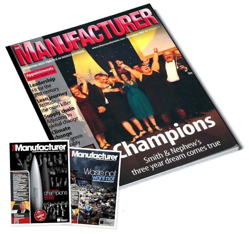 The Manufacturer Magazine November 1997
