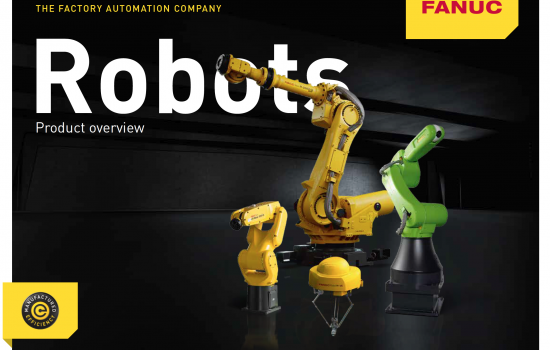 Fanuc Robots Product Overview Screen Shot