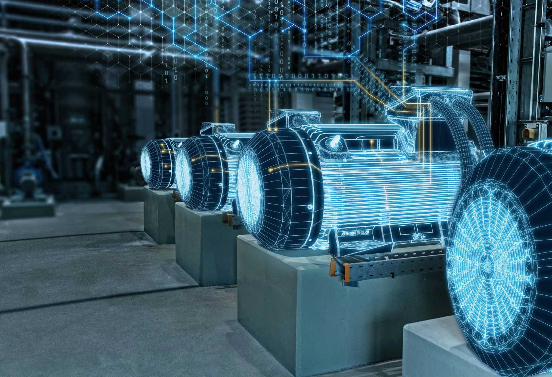Industrial IoT - IIoT - Siemens' 'Mindsphere' IoT operating system can use digital twins to help optimise product development, production management and in-service performance – image courtesy of Siemens.