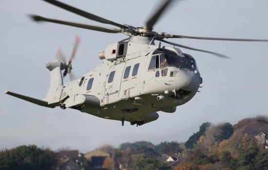 Defence Helicopter - image courtesy of Leonardo.