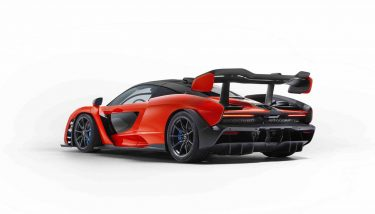 The McLaren Senna hyper car is the personification of McLaren's DNA at its most extreme - image courtesy of McLaren.