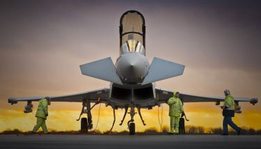 BAE Systems has announced a £5bn contract to supply Typhoon aircraft to the Qatari air force - image courtesy of BAE.