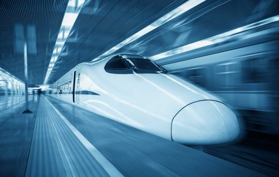High-Speed Rail - The University of Leeds' rail testing facility would be the largest facility of its kind in the world when opened – image courtesy of Depositphotos.