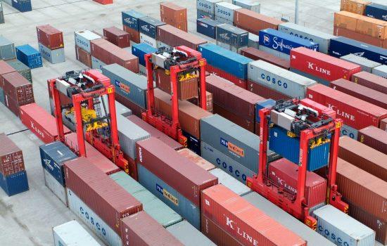Patrick's AutoStradTM container terminal, Brisbane, Australia - image courtesy of Kalmar.