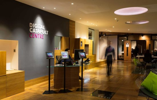 The first Digital Catapult Centre opened in London in November 2014 - image courtesy of Digital Catapult.
