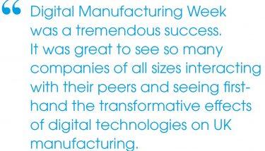 Digital Manufacturing Week 2017 - Delegate Quote