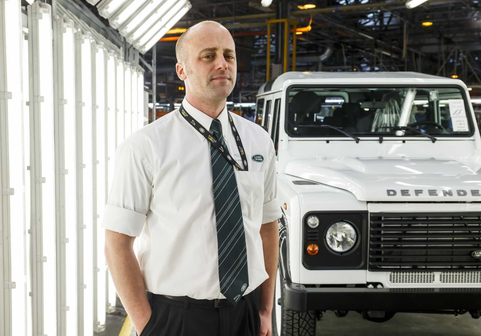 Former Staff Sergeant Wayne Walker (Queen's Royal Lancers) is a process leader at Jaguar Land Rover in Solihull.