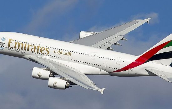 One of the many A380 aircraft currently operated by Emirates. Image courtesy of Wikipedia