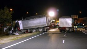 Lorry crashes are on the increase. Image courtesy of Highway Patrol Images