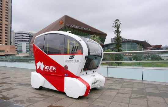 A Coventry company is helping pioneer driverless vehicle technology 'Down Under' after it began trials on a new 'last mile' transport solution - image courtesy of RDM