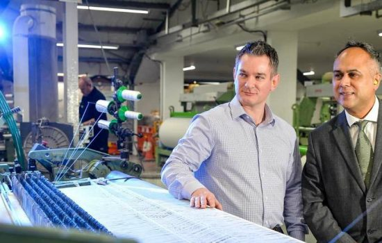 The textiles manufacturer has secured £9,000 of funding from a government-backed programme that will help it boost its digital technology - image courtesy of Arville Textiles.