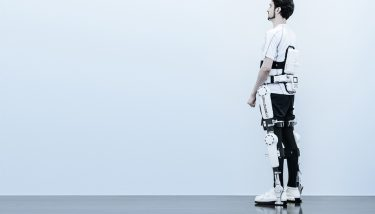 The Cyberdyne HAL mechanical exoskeleton. Image courtesy of Cyberdyne.