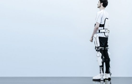 The Cyberdyne HAL exoskeleton. Image courtesy of Cyberdyne.