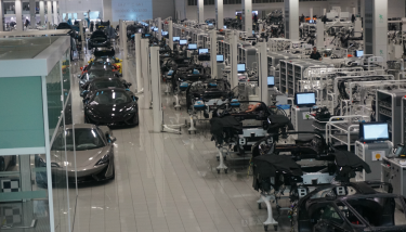 A very special 'Made in Britain' production line – McLaren Automotive, Woking.