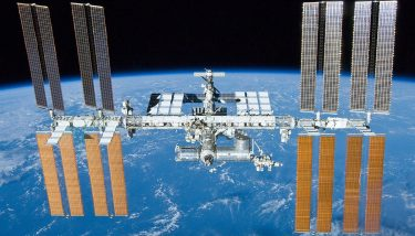 The ISS is one of the most expensive structures built my mankind. Image courtesy of NASA.