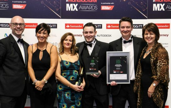 Interface at The Manufacturer MX Awards 2017 - image courtesy of The Manufacturer.