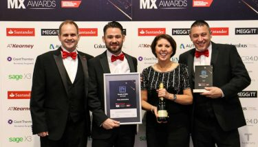 at The Manufacturer MX Awards 2017 - image courtesy of The Manufacturer.